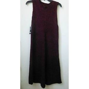 New Directions Sweater Dress Red Size L